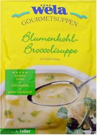 Blumenkohl-Broccolisuppe