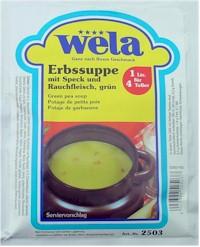 Erbssuppe mit Speck und Rauchfleisch von Wela