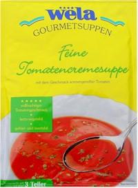 Feine Tomatencremesuppe von Wela