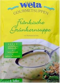 Fränkische Grünkernsuppe