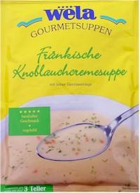 Fränkische Knoblauchcremesuppe
