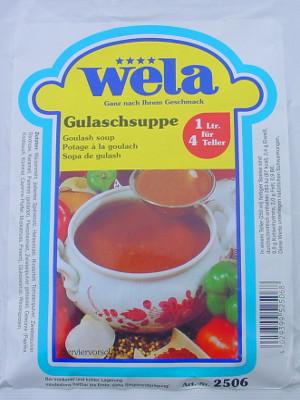 Gulaschsuppe, Beutel