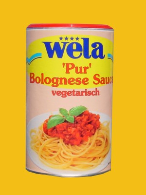 Bolognese Sauce vegetarisch 'PUR' von Wela