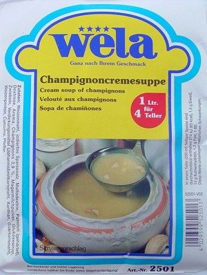 Champignoncremsuppe