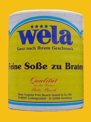 Feine Soße zum Braten 1/1 Dose von Wela