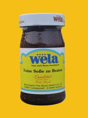 Feine Soße zum Braten 1/4 Glas von Wela