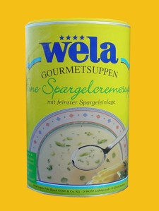 Feine Spargelcremesuppe Dose