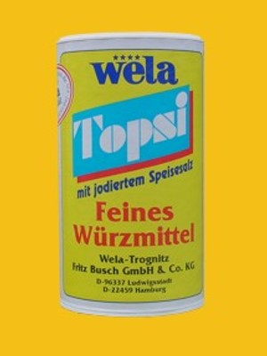 Topsi – mit jodiertem Speisesalz von Wela