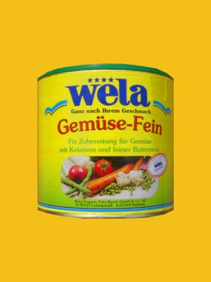 Gemüse-Fein Singledose von Wela
