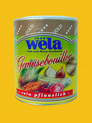 Wela-Gold Gemüsebouillon Paste, 1/1 Dose