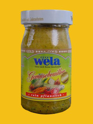 Wela-Gold Gemüsebouillon Paste, 1/2 Glas