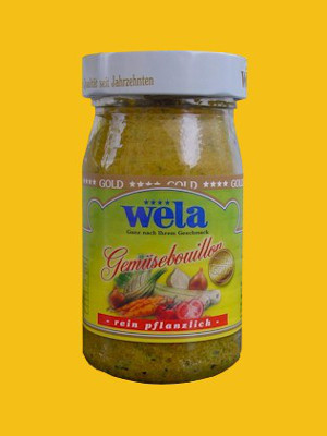 Wela-Gold Gemüsebouillon Paste, 1/4 Glas