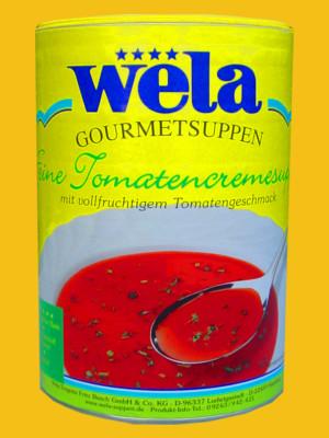 Feine Tomatencremesuppe Dose von Wela