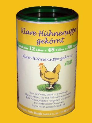 Bio Klare Hühnersuppe gekörnt