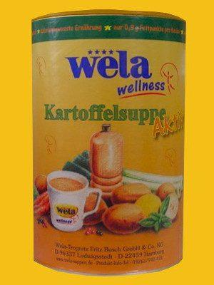 Kartoffelsuppe Aktiv von Wela