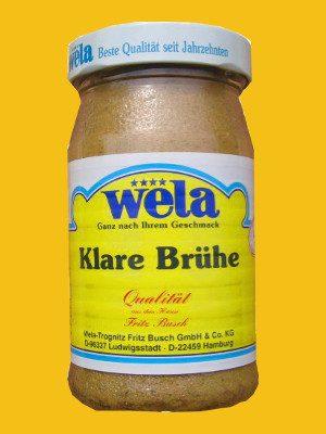 Klare Brühe Paste, 1/2 Glas von Wela