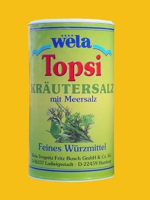 Topsi – Kräutersalz mit Meersalz von Wela