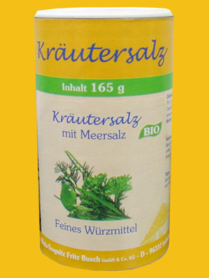 BIO Kräutersalz mit Meersalz von Wela