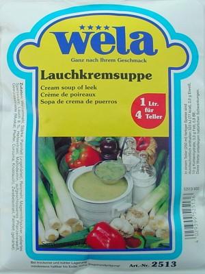Lauchkremsuppe von Wela