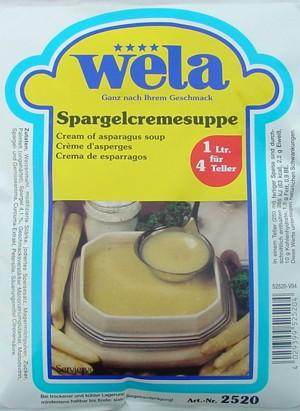 Spargelkremsuppe von Wela