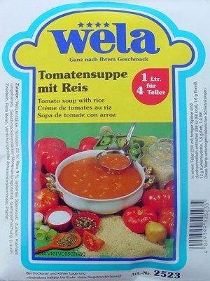 Tomatensuppe mit Reis von Wela