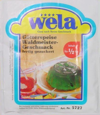 Götterspeise Waldmeister-Geschmack