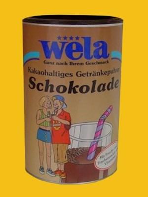 Schokolade von Wela