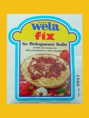 Fix für Bolognese von Wela