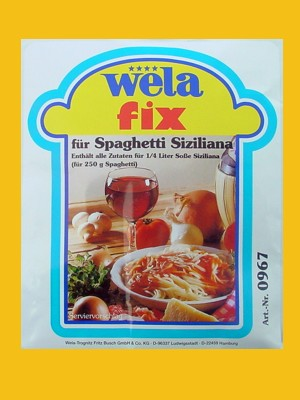 Fix für Spaghetti Siziliana von Wela