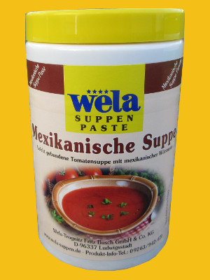 Mexikanische Suppe Paste