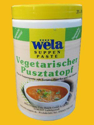 Vegetarischer Pusztatopf von Wela