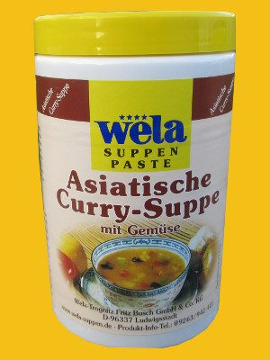 Asiatische Curry-Suppe von Wela