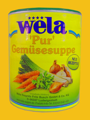 "Gemüsesuppe ""PUR"" Paste 1/1 Dose"