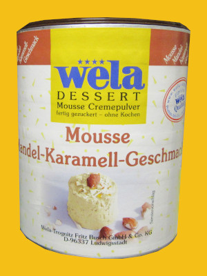 Mouse Mandel Karamel Geschmack
