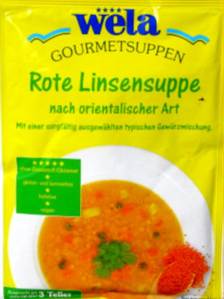 Gourmet Rote Linsensuppe nach orientalischer Art