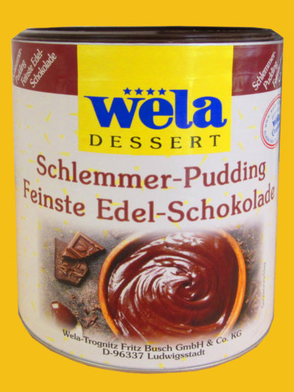 "Schlemmer-Pudding ""Feinste Edel-Schokolade"""
